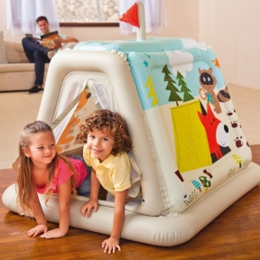 Детская игровая палатка Intex