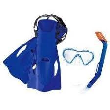 Набор для плавания Firefish(маска, трубка, ласты р-р 37-41)в ассортименте,от 7 лет