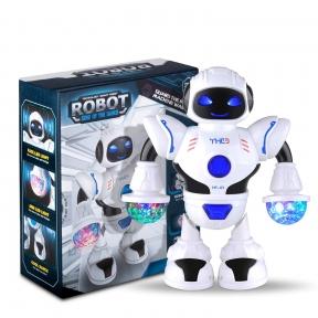 Робот гуманоид на батарейках