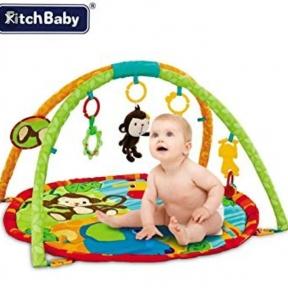 Детский развивающий коврик Fitch baby