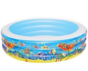 Детский круглый бассейн