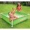 Детский каркасный бассейн Intex  122*122*30 см