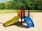 Уличный детский игровой комплекс с качелями и горками  ИК-022