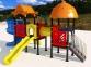 Уличный детский игровой комплекс с качелями и горками  ИК-002