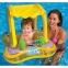 Intex Надувные водные ходунки с тентом, до 15 кг, от 1 до 3 лет 81*66 см