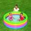 Детский круглый бассейн Bestway Разноцветный, 157х46 см