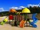 Уличный детский игровой комплекс с качелями и горками  ИК-018