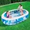 Надувной овальный бассейн Bestway, 229х152х51 см