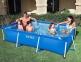 Прямоугольный каркасный бассейн Intex 300х200х75 см