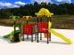 Уличный детский игровой комплекс с качелями и горками  ИК-014