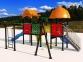 Уличный детский игровой комплекс с качелями и горками  ИК-001