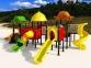 Уличный детский игровой комплекс с качелями и горками  ИК-009