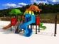 Уличный детский игровой комплекс с качелями и горками  ИК-010