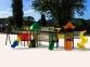 Уличный детский игровой комплекс с качелями и горками  ИК-006