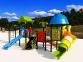 Уличный детский игровой комплекс с качелями и горками  ИК-008