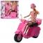 Кукла на скутере DEFA LUCY 8246